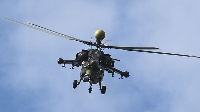 Модернизированные Ми-28НМ «Ночной охотник» перебросили в Сирию для испытаний