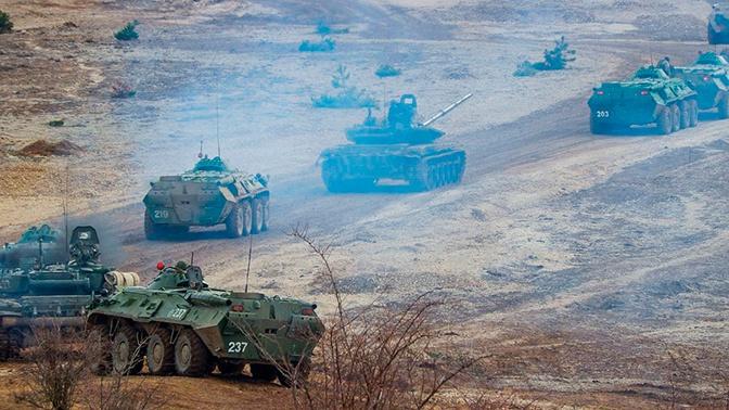 Масштабные учения ВДВ начались в Крыму