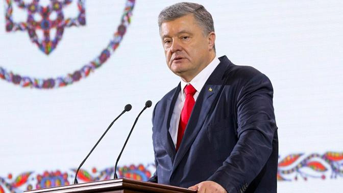 Порошенко назвал своего главного конкурента на президентских выборах