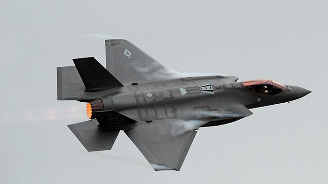 Бельгия признала истребитель F-35 непригодным для ведения боя