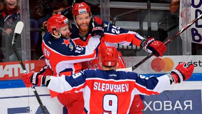ЦСКА обыграл «Авангард» в первом матче финала КХЛ