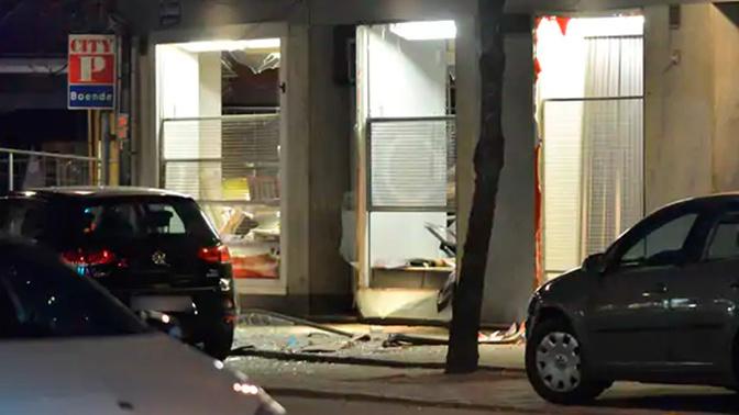 На востоке Швеции прогремел мощный взрыв