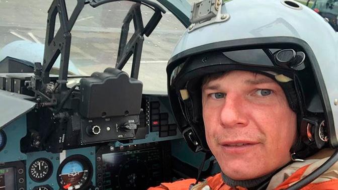 Андрей Аршавин оказался в кабине истребителя Су-30М2
