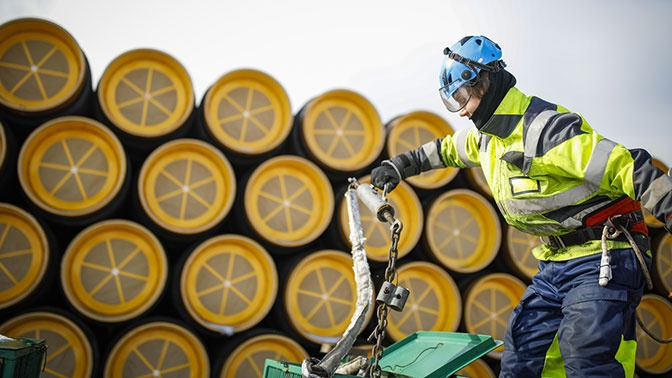 Nord Stream 2 запросил у Дании новый маршрут строительства