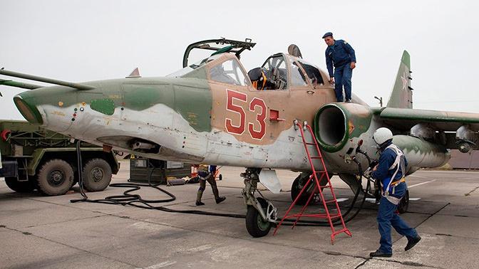 Штурмовая авиация ЮВО усилена четырьмя Су-25СМ3 «Суперграч»