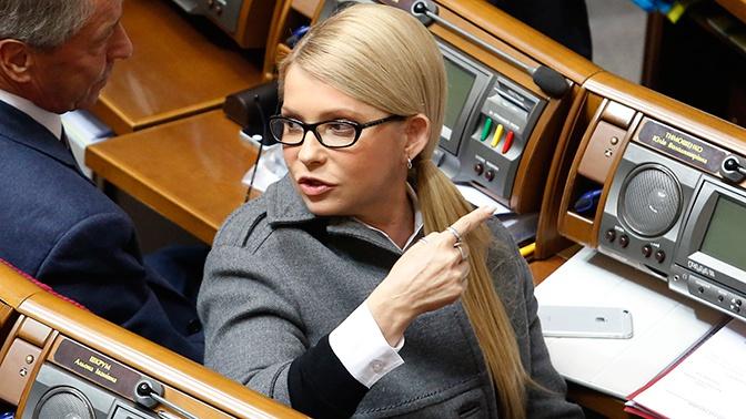 Тимошенко рассказала, как Порошенко «попросил» ее голосовать за него
