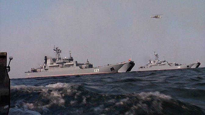 Балтфлот отработал комплекс мер по контролю за кораблями НАТО