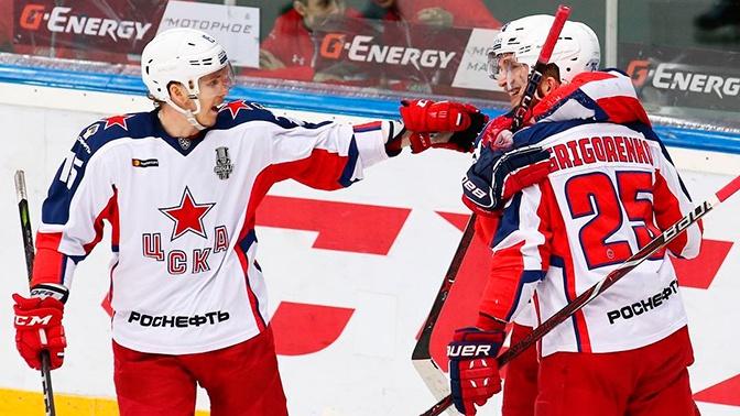 ЦСКА впервые в своей истории завоевал Кубок Гагарина