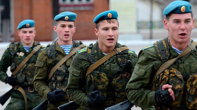 Цаликов назвал важной задачей обеспечение армии контрактниками для ее боеготовности