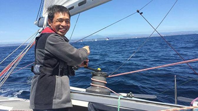 Слепой японский моряк пересек Тихий океан на яхте
