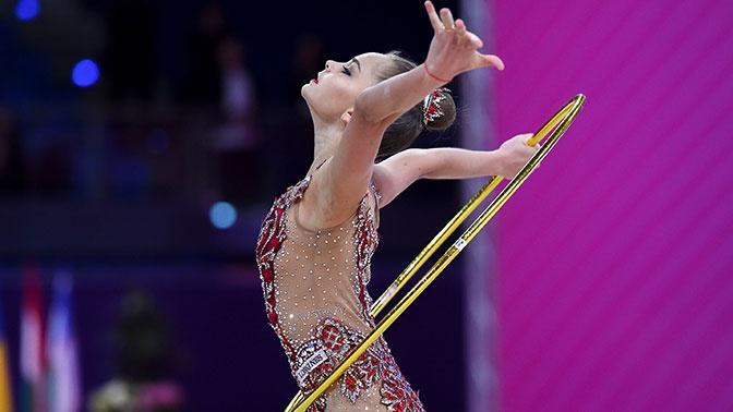 Сборная РФ победила на этапе КМ по художественной гимнастике