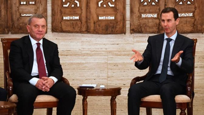 Борисов обсудил с Асадом бензиновый кризис в Сирии