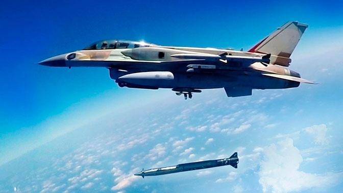 Аналитик: ВВС Израиля испытали сверхзвуковую ракету, ударив по Сирии