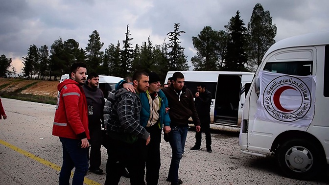 Обмен пленными прошел в Сирии при поддержке военных РФ, Ирана и Турции