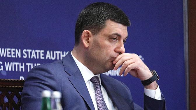 Премьер Украины принял решение покинуть партию Порошенко