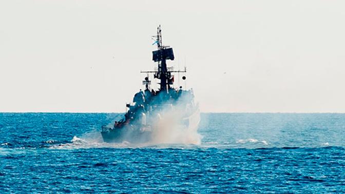 Торпедный удар: корабли ТОФ уничтожили подлодку «противника»
