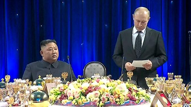 Путин раскрыл темы личной беседы с Ким Чен Ыном