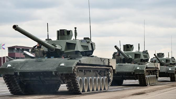 В США обозначили превосходство танка Т-14 перед американским «Абрамсом»