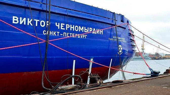 Определены сроки сдачи в эксплуатацию ледокола «Виктор Черномырдин»