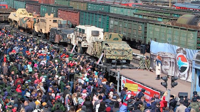 «Сирийский перелом» собрал 320 тысяч человек в центре и на северо-западе России