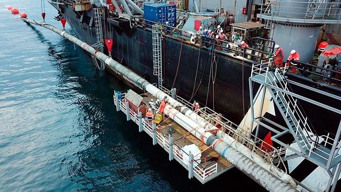 В «Газпроме» назвали сроки запуска газопровода «Турецкий поток»