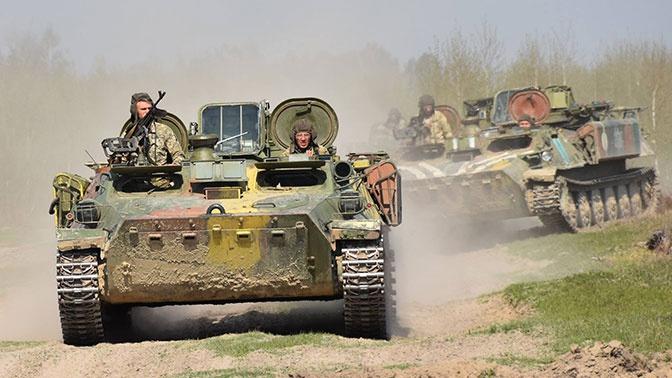 Киев заявил о захвате новых территорий в Донбассе
