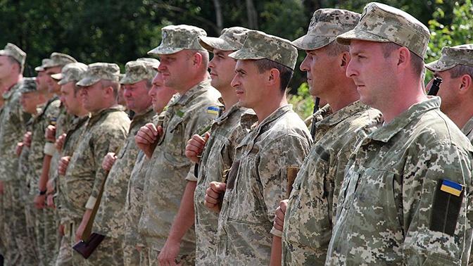 «Ачто, так можно?». ВРаде посоветовали  доукомплектовать армию резервистами без мобилизации