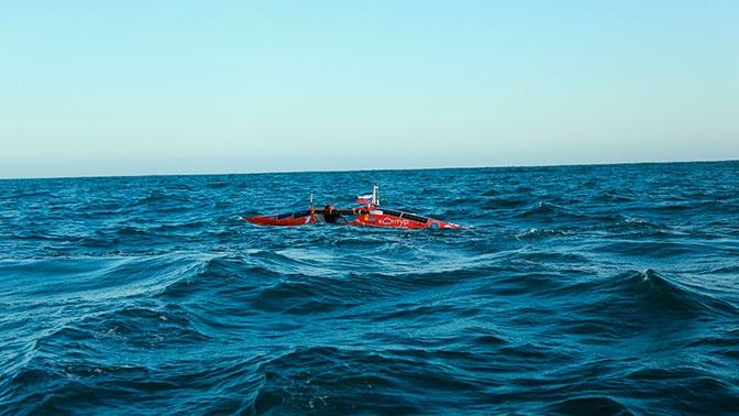Первый в истории: Конюхов пересек 55-й градус южной широты в Южном океане на лодке
