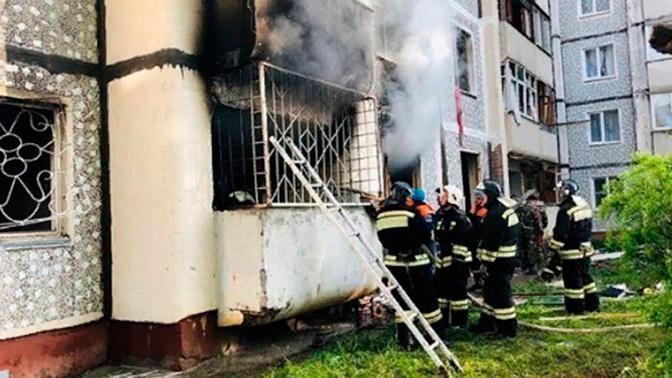 СК РФ опубликовал кадры последствий взрыва в жилом доме на Ставрополье