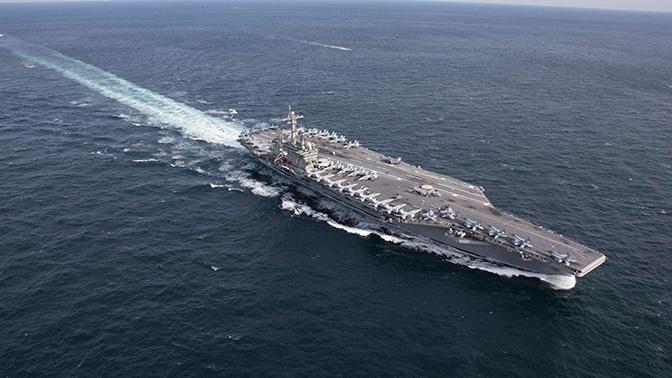 «Это сигнал»: США отправили авианосную группу к берегам Ирана