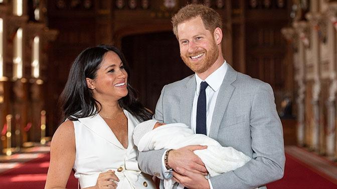 Принц Гарри и Меган Маркл назвали имя первенца