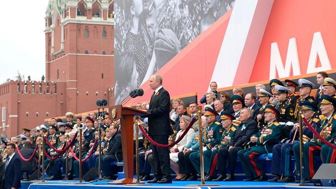 Путин рассказал о «генетическом героизме» современных россиян