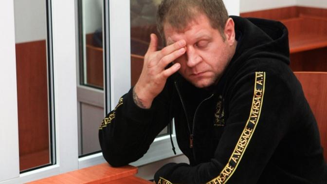 Полицейские задержали в Москве Александра Емельяненко