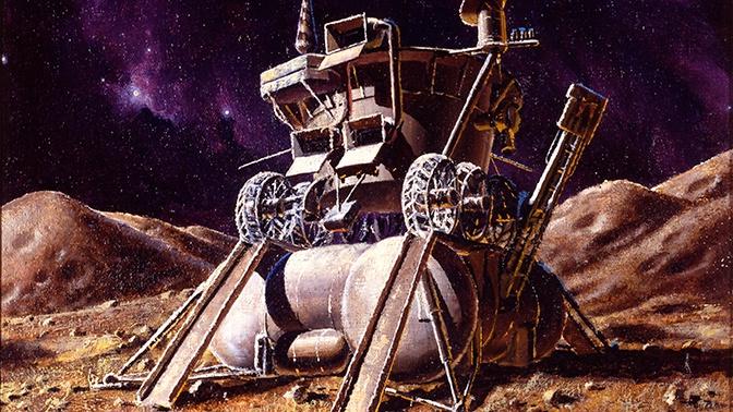 СМИ: российским луноходом будет управлять антропоморфный робот