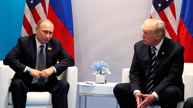 Трамп хочет встретиться с Путиным на G20