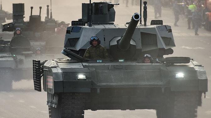 Для танков «Армата» разработали комплекс дистанционной разведки «Глаз»
