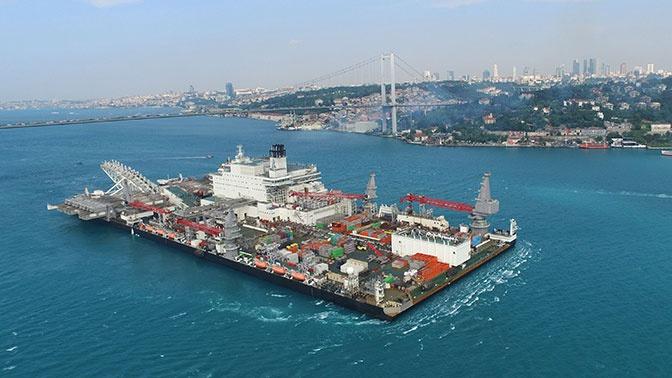 Названа дата начала поставок газа по «Турецкому потоку»