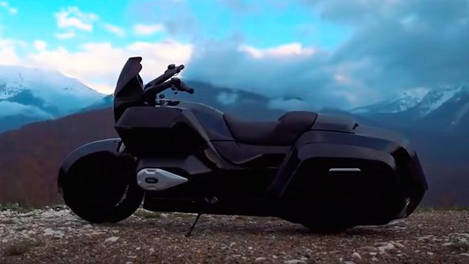 В НАМИ начали испытания мотоцикла «Кортеж»