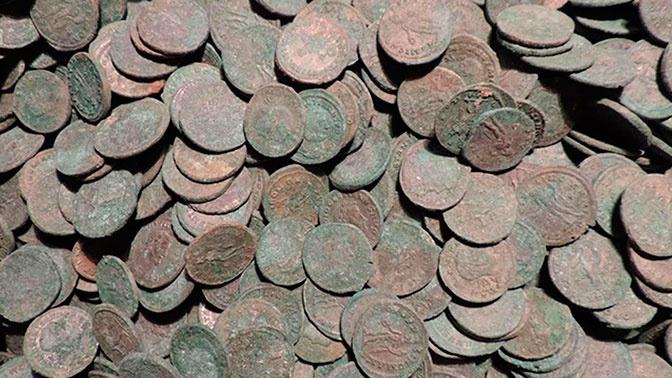 Крупнейший римский клад нашли в Британии