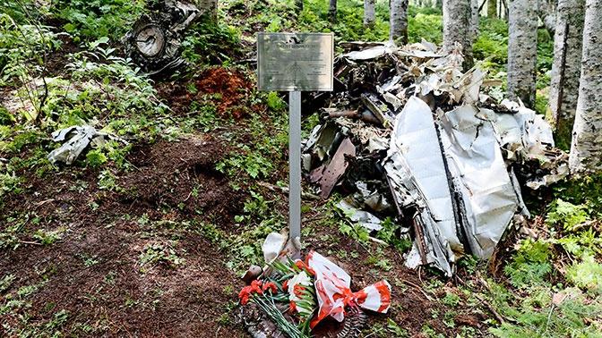 Сахалинские туристы обнаружили фрагмент МиГ-17, разбившегося в 1954 году