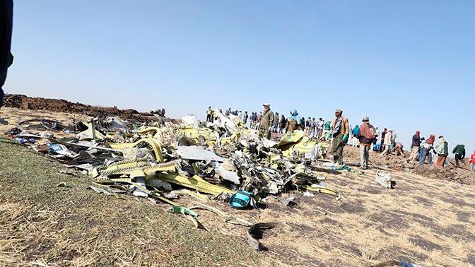 В США признали, что не проверяли системы разбившегося в Эфиопии Boeing