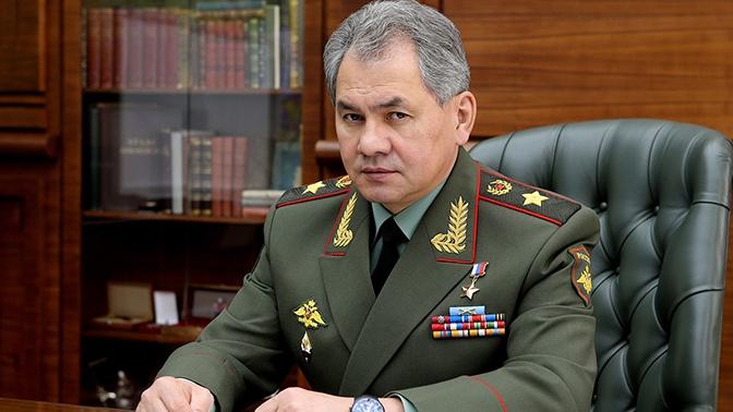 Шойгу поздравил Главное политуправление ВС РФ со 100-летним юбилеем