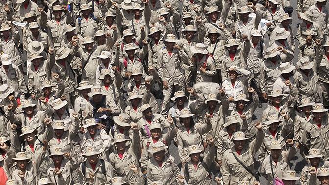 В Венесуэле обвинили ЦРУ в попытке подкупа армии