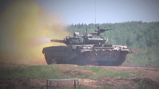 «Т-72Б3 в деле»: эксклюзивные кадры