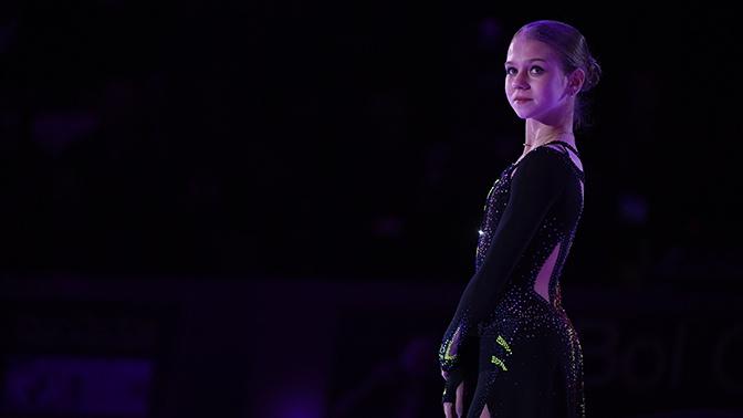 Российская фигуристка Трусова признана лучшей молодой спортсменкой Европы