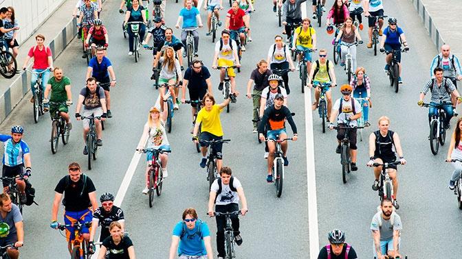В Москве ограничат движение транспорта на время велофестиваля