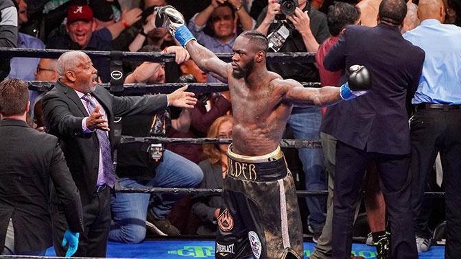 Уайлдер защитил титул чемпиона миру по боксу в девятый раз
