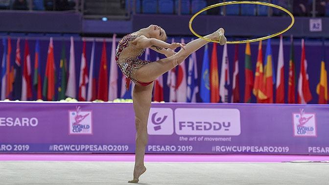 Сборная России одержала досрочную победу на ЧЕ по художественной гимнастике