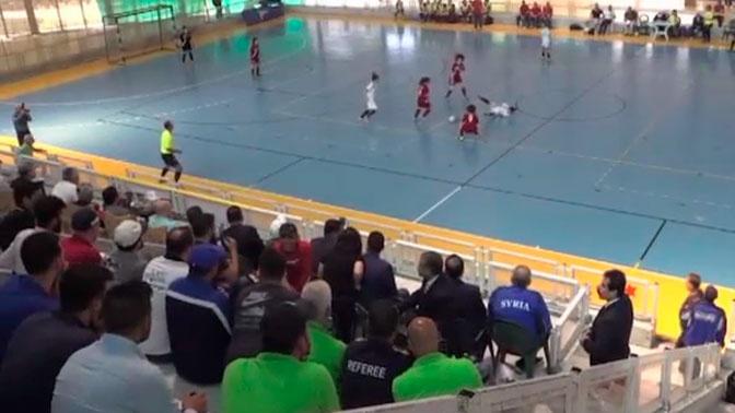 В Сирии прошел финал турнира по женскому мини-футболу