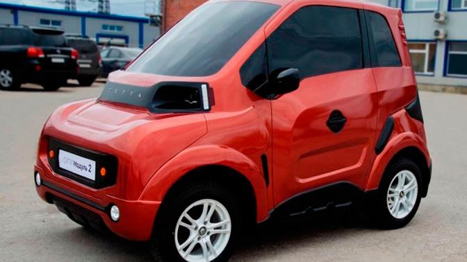 Названа цена нового российского электромобиля Zetta